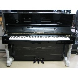 PIANOFORTE VERTICALE WILLERMANN 123 NERO